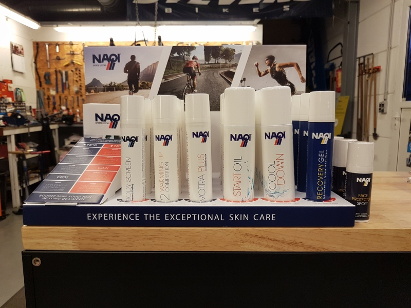 Sports Lotions van Naqi